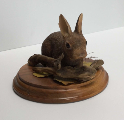Bunny Sculpture